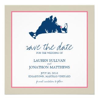 Edgartown Martha s Vineyard Wedding Save the Date Custom Invitations