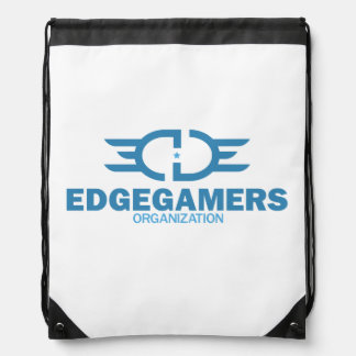 EDGE Blue Drawstring Backpack