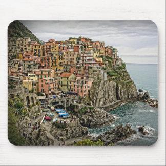 Edge of Italy - Manarola - Mousepad