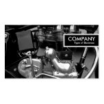 Edge Tag - Classic Motorbike Engine Business Card Templates