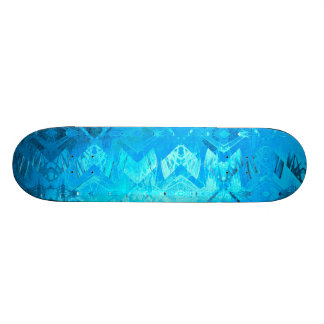 Edged momentum (blue) skate board deck