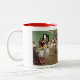 Edger Degas: The Dance Class Two-Tone Mug