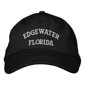 EDGEWATER, FLORIDA EMBROIDERED HAT