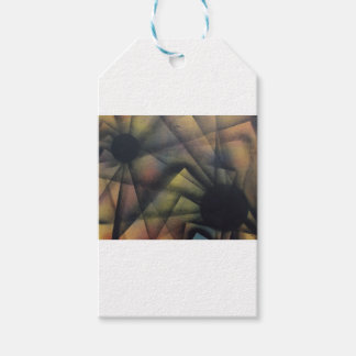 Edgy Spiders Gift Tags