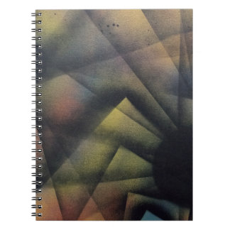 Edgy Spiders Spiral Notebook