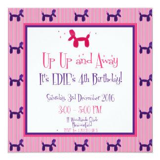 Edie's 4th Birthday Card