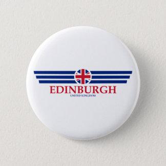 Edinburgh 6 Cm Round Badge