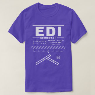 Edinburgh Airport EDI Tee Shirt