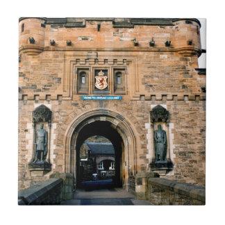 Edinburgh Castle entrance Ceramic Tile