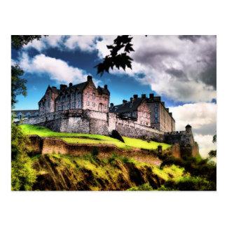 Edinburgh Castle Post Card