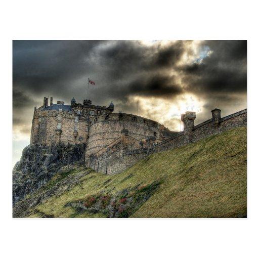 Edinburgh Castle Postcards