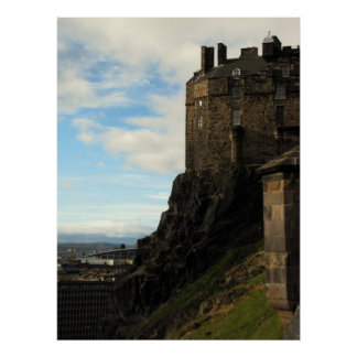 Edinburgh Castle Poster