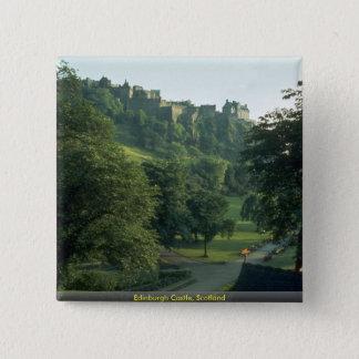 Edinburgh Castle, Scotland 15 Cm Square Badge
