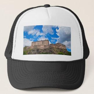 Edinburgh Castle Scotland Trucker Hat