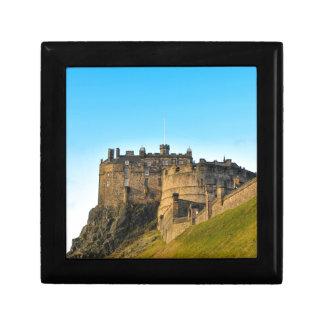 Edinburgh Castle Small Square Gift Box