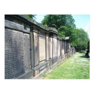 Edinburgh Cemetery Post Cards