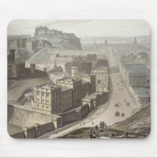 Edinburgh, from Calton Hill, from 'A Voyage Around Mouse Pad