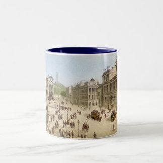 Edinburgh in the 19th Century Two-Tone Coffee Mug