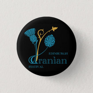 Edinburgh Iranian Festival Badge - Logo Black