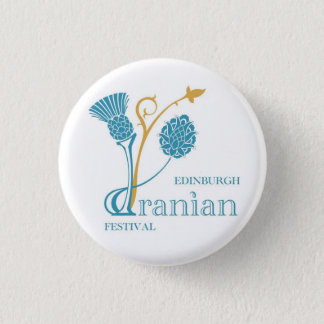 Edinburgh Iranian Festival Badge - Logo White