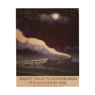 Edinburgh Locomotive travel poster