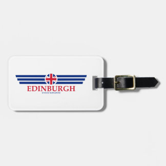 Edinburgh Luggage Tag