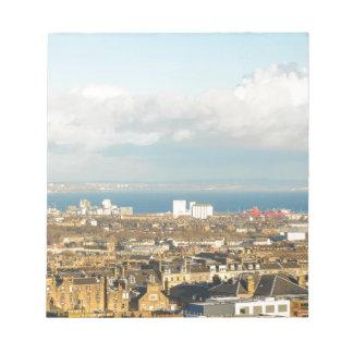 Edinburgh panorama notepads