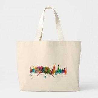Edinburgh Scotland Skyline Tote Bag