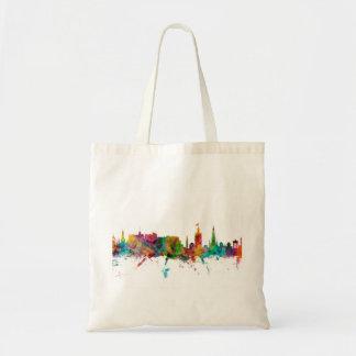Edinburgh Scotland Skyline Budget Tote Bag