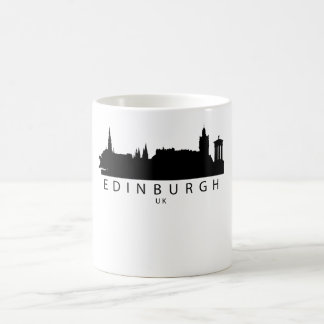 Edinburgh Scotland UK Skyline Coffee Mug