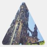 Edinburgh Scott's Monument Triangle Sticker
