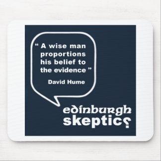 Edinburgh Skeptics - Hume Quote Mouse Pad