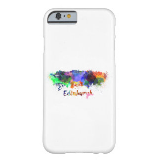 Edinburgh skyline in watercolor barely there iPhone 6 case