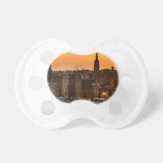 Edinburgh Skyline Sundown Dummy