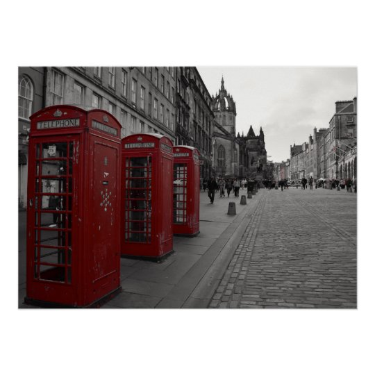 Edinburgh's Royal Mile. Poster