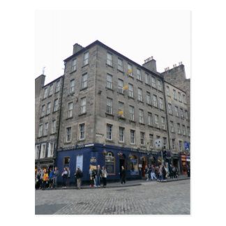Edinburgh's The World's End Tavern Postcard