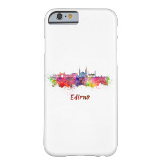 Edirne skyline in watercolor barely there iPhone 6 case
