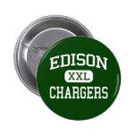 Edison - Chargers - High - Huntington Beach Badges