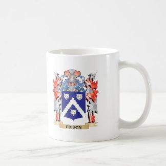 Edison Coat of Arms - Family Crest Coffee Mug