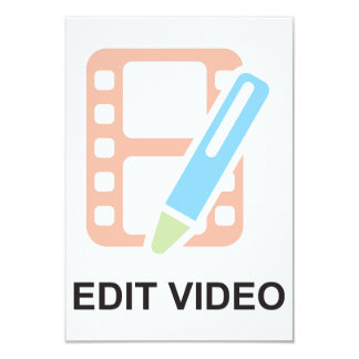 Edit Video Invitations