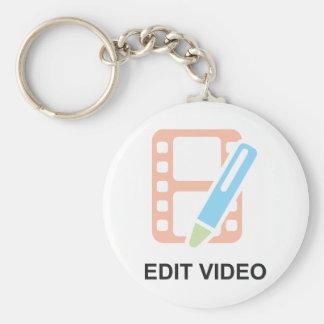 Edit Video Keychain