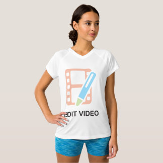 Edit Video Womens Active Tee