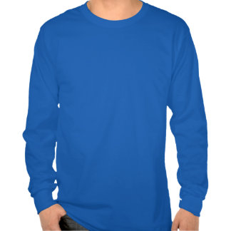 Editable Background Color - Blue Heart Pattern T Shirts