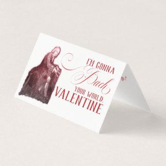 EDITABLE Classical Music w/ Bach Valentine Card