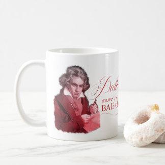 EDITABLE Classical Music w/ Beethoven Valentine Coffee Mug