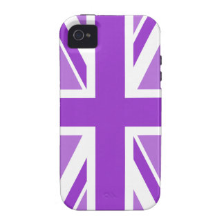Editable Color Union Jack Flag Case-Mate iPhone 4 Cover