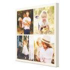 Editable Colour Photo Box Custom Wrapped Canvas