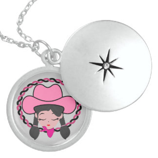 Editable Custom Necklace Round Locket Necklace