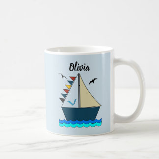 Editable Let's Sail Away Morphing Mug