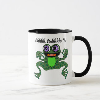 Editable Purps The Exuberant Frog Combo Mug